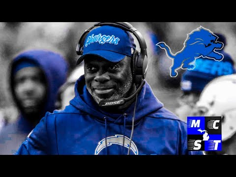 Breaking News: Detroit Lions Hire Ex Los Angeles Charger HC Anthony Lynn as Offensive Coordinator!!!