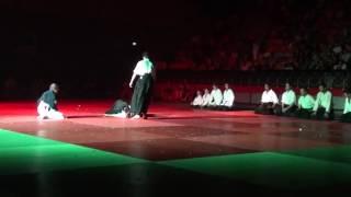 Démonstration aikido école aikivudao salle Vallier Marseille juin 2016