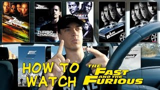 The REAL Order of the Fast & Furious Movies