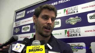preview picture of video 'Modena, Bruninho saluta, ma tornerà in virtù del biennale'