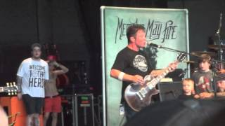 Bayside - We'll Be OK Live Mansfield, MA 7/19/12 Warped Tour