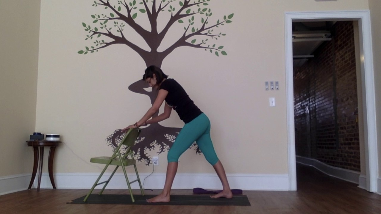 5 Poses: Week 4 - Standing Chair Sequence