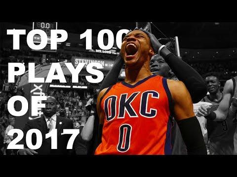 Top 100 Plays of the 2017 NBA Season ᴴᴰ