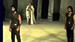"""Θεσσαλικό Θέατρο """"Ιφιγένεια εν Ταύροις"""" Ευριπίδη (1991)"""