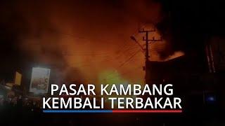 Update Kebakaran Pasar Kambang, Semua Armada Damkar Pesisir Selatan Dikerahkan ke Lokasi Kejadian