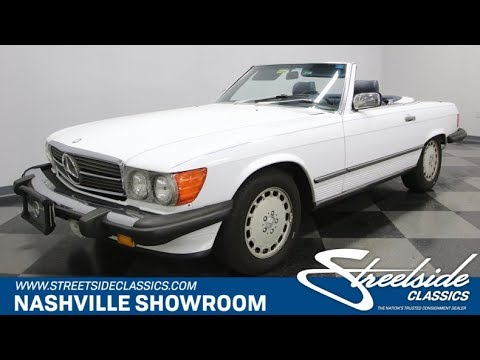 Video of '86 560SL - MU6W