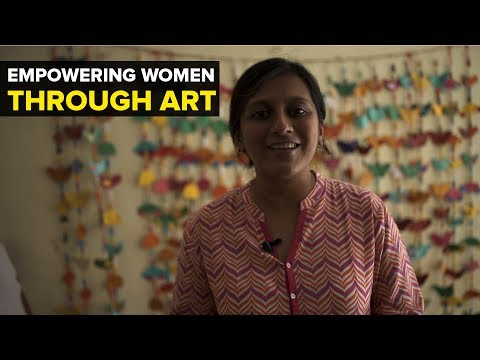 Empowering women through art. Meet Shalini Datta this software engineer who quit her job to improve the livelihoods of women from marginalised communities.