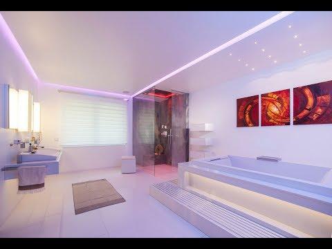 Luxus Spa-, und Bad-Design mit der Luxusdusche Sensory Sky ATT von Dornbracht