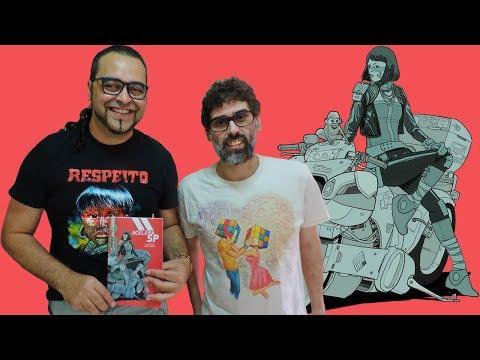 Acelera SP, a distopia cyberpunk de Cadu Simões e Juliano Kaapora