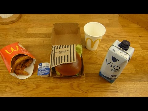 McDonald's - Signature Beef Burger Classic | American Fries | VIO Blue