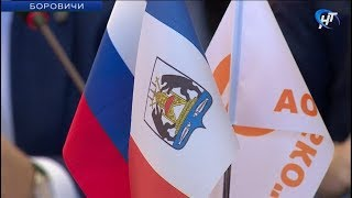 В Боровичах прошло очередное выездное заседание правительства области