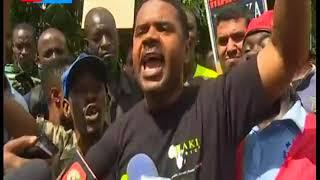Madereva jijini Mombasa waandamana kupuuza agizo la serikali kutaka mizigo yote kusafirishwa na SGR