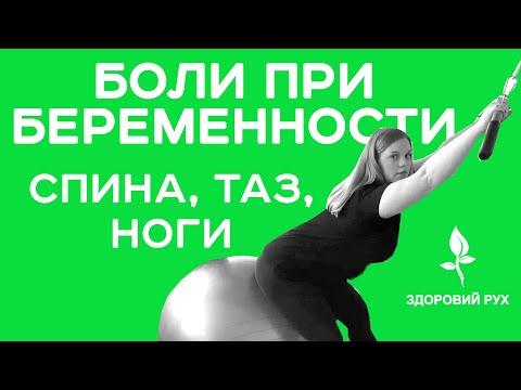 Упражнения от боли в спине, тазу и ногах при беременности?