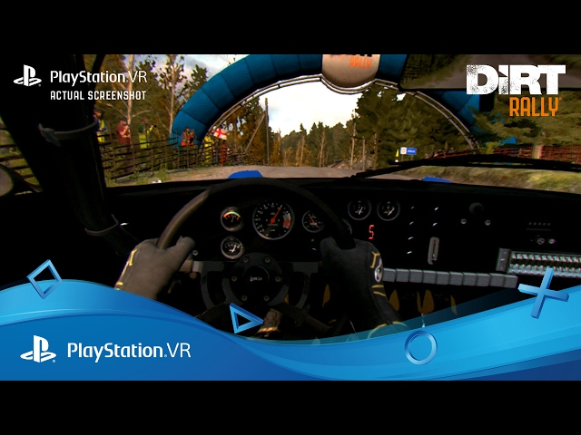 DiRT Rally | PlayStation VR Launch Trailer | PlayStation VR