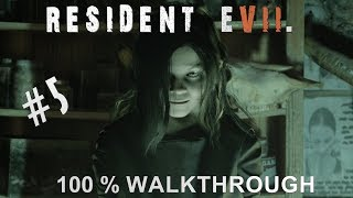 Resident Evil 7 100% Walkthrough Madhouse (All items,Coins,Mr Everywhere and Files) Part 5