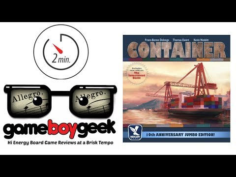 The Game Boy Geek's Allegro (2-min Review) of Container