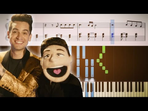 HEY LOOK MA, I MADE IT (Panic! At The Disco) - Piano Tutorial + SHEETS