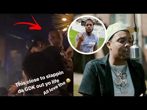 """FBG Duck Affiliate Cash Catches G Herbo At The Club After D!ssing """"GD's"""" In His Freestyle!?"""