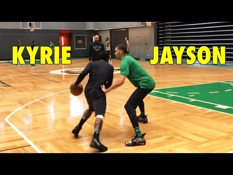 Kyrie Irving 1-on-1 against Jayson Tatum | WHO WON?
