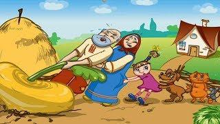 РЕПКА. Русская народная сказка. Сказки для малышей