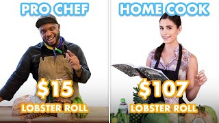 $107 vs $15 Lobster Roll: Pro Chef & Home Cook Swap Ingredients   Epicurious