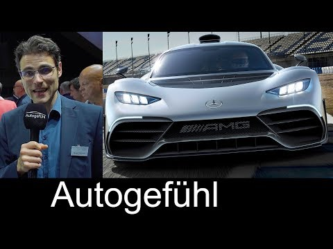Mercedes AMG Project One 1000 hp Hypercar REVEAL REVIEW & Premiere Interviews - Autogefühl