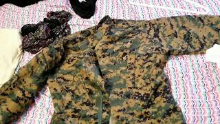 usmc style marpat propper acu top and pants