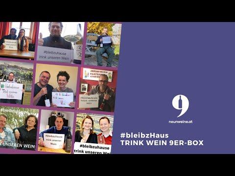 #bleibzhaus & trink WEIN 9er Box