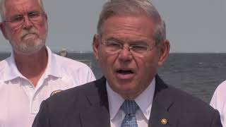 Menendez, Pallone Visit Union Beach to Push Sweeping Flood Insurance Reforms