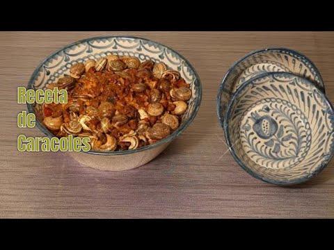 Receta de CARACOLES en SALSA con chorizo y jamón 😋