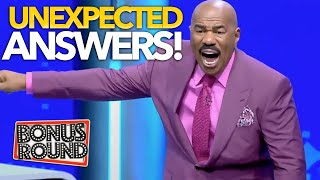 WAIT FOR IT! STEVE HARVEY was NOT EXPECTING TO HEAR THESE ANSWERS On Family Feud