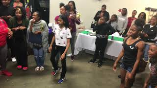 LIL GIRLS MOST HYPED BATTLE OF 2K18 L Cheer Banquet | OfficialTSquadTV | Tommy The Clown