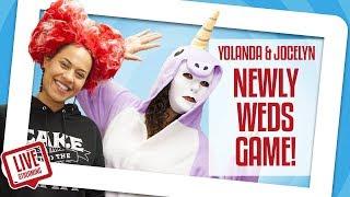 Yolanda & Jocelyn Play The NEWLYWED GAME!! | Yolanda Gampp | How To Cake It