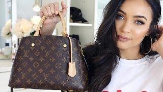WHATS IN MY BAG? LOUIS VUITTON MONTAIGNE | Stephanie Ledda