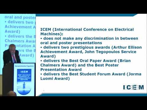 Capolino G. A. - ICEM Opening Ceremony