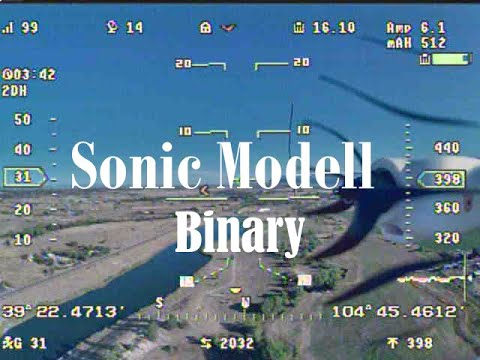 sonic-modell-binary-test-flight-with-vector-osd