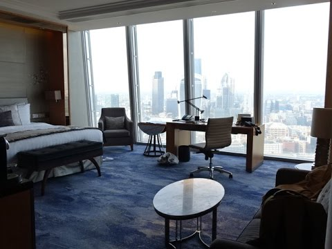 Shangri La Hotel, The Shard, London, UK – Premier City View Room