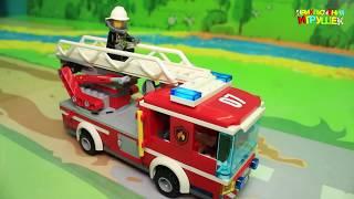 Мультики про машинки - Мультик для детей с машинками Лего - Не гони, в переди опасно!