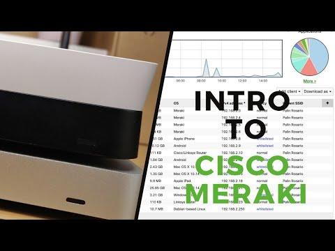 Cisco Meraki Introduction: Meraki and Dashboard Overview - YouTube