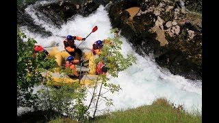 Rafting vBosně, Rafting na Balkáně. Rafty akánoe. - Video