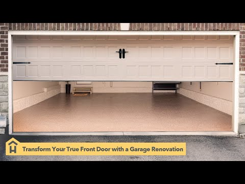 It's Time For A Garage Renovation