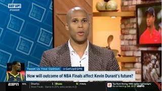 ESPN GET UP | Richard Jefferson DEBATE: How will outcome of NBA Finals affect Kevin Durant's future?