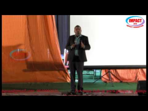 Art of Living|JVC Sreeram|TELUGU IMPACT Hyd 2013