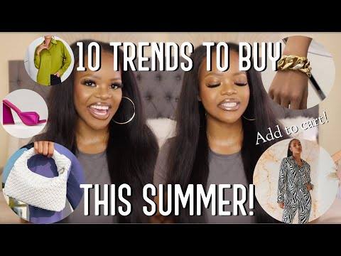 ❗️WATCH THIS BEFORE SUMMER SHOPPING THIS YEAR | 10 TRENDS TO BUY THIS SUMMER