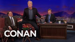 Jeff Daniels On The Dance That Launched His Acting Career  - CONAN on TBS