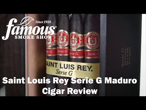 Saint Luis Rey Serie G Maduro video