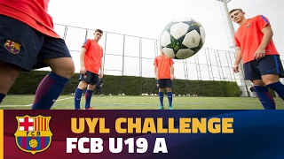 UEFA Youth League Skills Challenge: FC Barcelona
