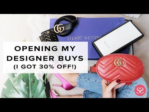 I GOT 30% OFF ALL THIS LUXE 😳 | Gucci, Saint Laurent, Stuart Weitzman | Sophie Shohet