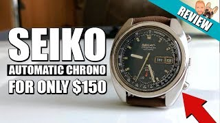 Amazing Value! Vintage Automatic Seiko Chronograph (6139-6012) for $150 - Review