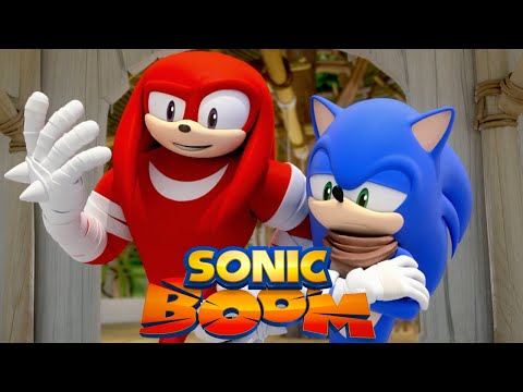 Sonic Boom | It Wasn't Me, It Was the One-Armed Hedgehog | Episode 28